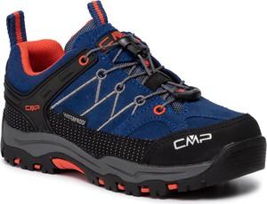 Niebieskie buty trekkingowe dziecięce CMP