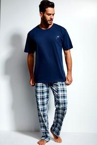 Granatowa piżama Cornette