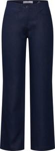Granatowe spodnie Brax w stylu retro