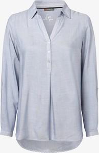 Niebieska bluzka STREET ONE w stylu casual z długim rękawem