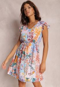 Sukienka Renee trapezowa z dekoltem w kształcie litery v
