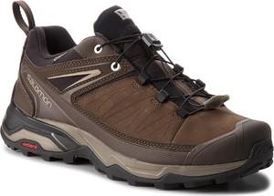 Buty trekkingowe Salomon w stylu retro z goretexu