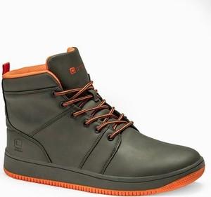 Ombre Buty męskie sneakersy T311 - zielone