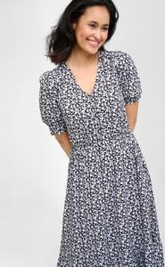 Sukienka ORSAY midi z dekoltem w kształcie litery v