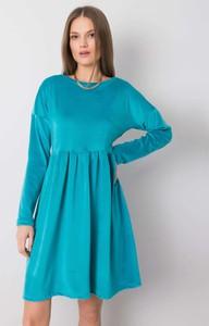 Sukienka Factory Price mini z okrągłym dekoltem w stylu casual