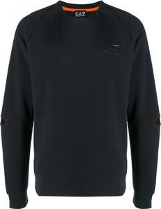 Czarny sweter Emporio Armani z wełny w stylu casual