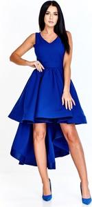 Sukienka Bosca Fashion mini asymetryczna bez rękawów