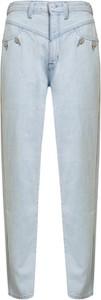 Niebieskie jeansy J Brand w street stylu