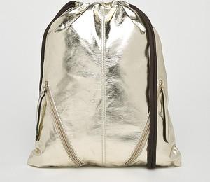 Złoty plecak Answear