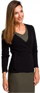 Czarny sweter Style z bawełny