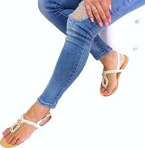 Sandały Sds ze skóry z płaską podeszwą
