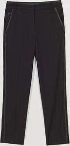 Czarne spodnie Mohito w stylu klasycznym