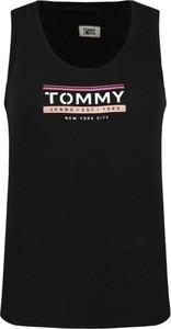 Top Tommy Jeans z okrągłym dekoltem