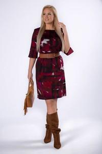 Czerwona sukienka Moda Dla Ciebie