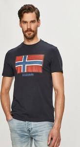 T-shirt Napapijri z krótkim rękawem