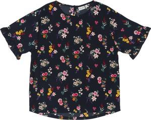 Bluzka dziecięca Name it z krótkim rękawem w kwiatki