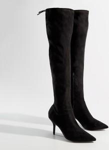 Czarne kozaki Mohito za kolano