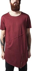 Bordowy t-shirt Urban Classics