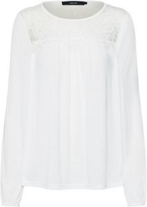 Bluzka Vero Moda z okrągłym dekoltem z długim rękawem