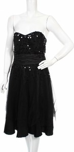 Czarna sukienka Next bez rękawów mini