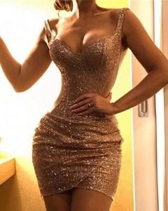 Sukienka Kendallme dopasowana mini na ramiączkach