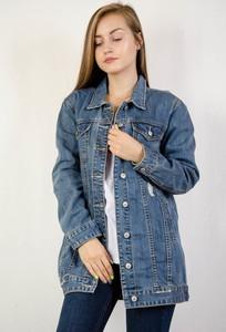 Niebieska kurtka Olika w młodzieżowym stylu