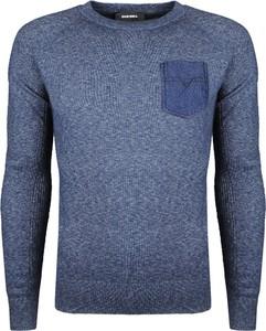 """Niebieski sweter Diesel Sweter """"k-touch"""""""