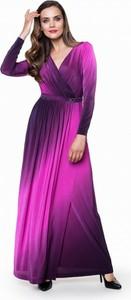 Fioletowa sukienka l'af