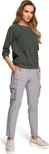 Spodnie Merg w militarnym stylu