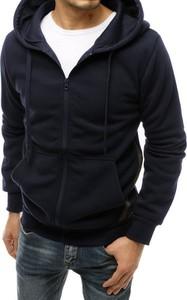 Granatowa bluza Dstreet z bawełny