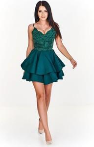 Niebieska sukienka Pawelczyk24.pl mini