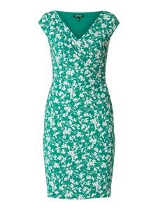 Zielona sukienka Ralph Lauren z dekoltem w kształcie litery v w stylu casual
