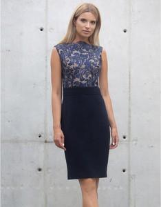 Niebieska sukienka Kasia Zapała