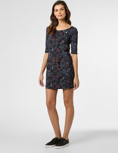 Sukienka Ragwear z okrągłym dekoltem w stylu casual mini