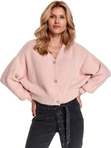 Sweter Top Secret z tkaniny