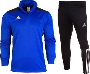 Niebieski dres Adidas