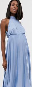 Niebieska sukienka Asos