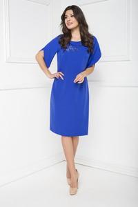 Niebieska sukienka Marcelini z tiulu