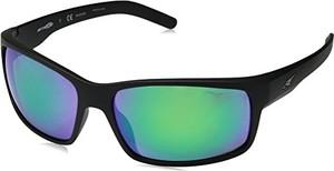 amazon.de arnette okulary przeciwsłoneczne 0 an4202 01/1i męskie, czarne (Matte Black/polarg reymi rrorgreen), 62