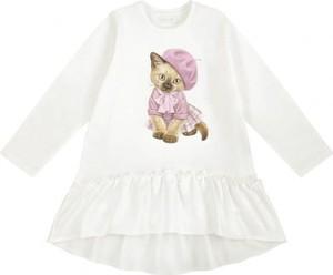 Tunika dziewczęca Ewa Collection dla dziewczynek z bawełny