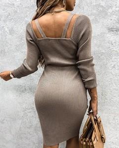Sukienka Kendallme w stylu casual mini dopasowana