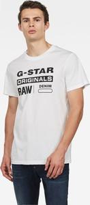 T-shirt G-Star Raw z dzianiny
