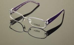 Okulary damskie Vogue w stylu glamour