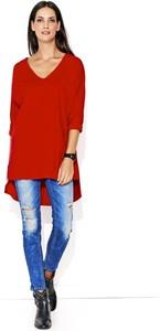 Bluza Makadamia w stylu casual z bawełny