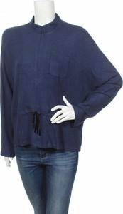 Granatowa bluzka Bgn Workshop w stylu casual z długim rękawem