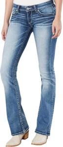 Niebieskie jeansy Cikelly z jeansu w stylu casual
