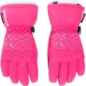 Różowe rękawiczki ROSSIGNOL