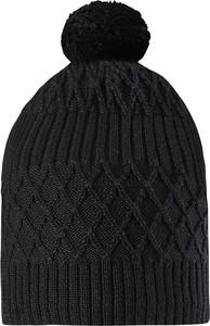 Czarna czapka Reima z wełny