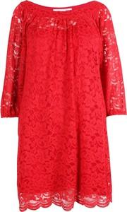 Sukienka Diane Von Furstenberg Vintage z okrągłym dekoltem w stylu casual mini