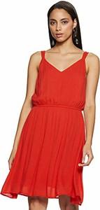 Sukienka amazon.de mini w stylu casual rozkloszowana